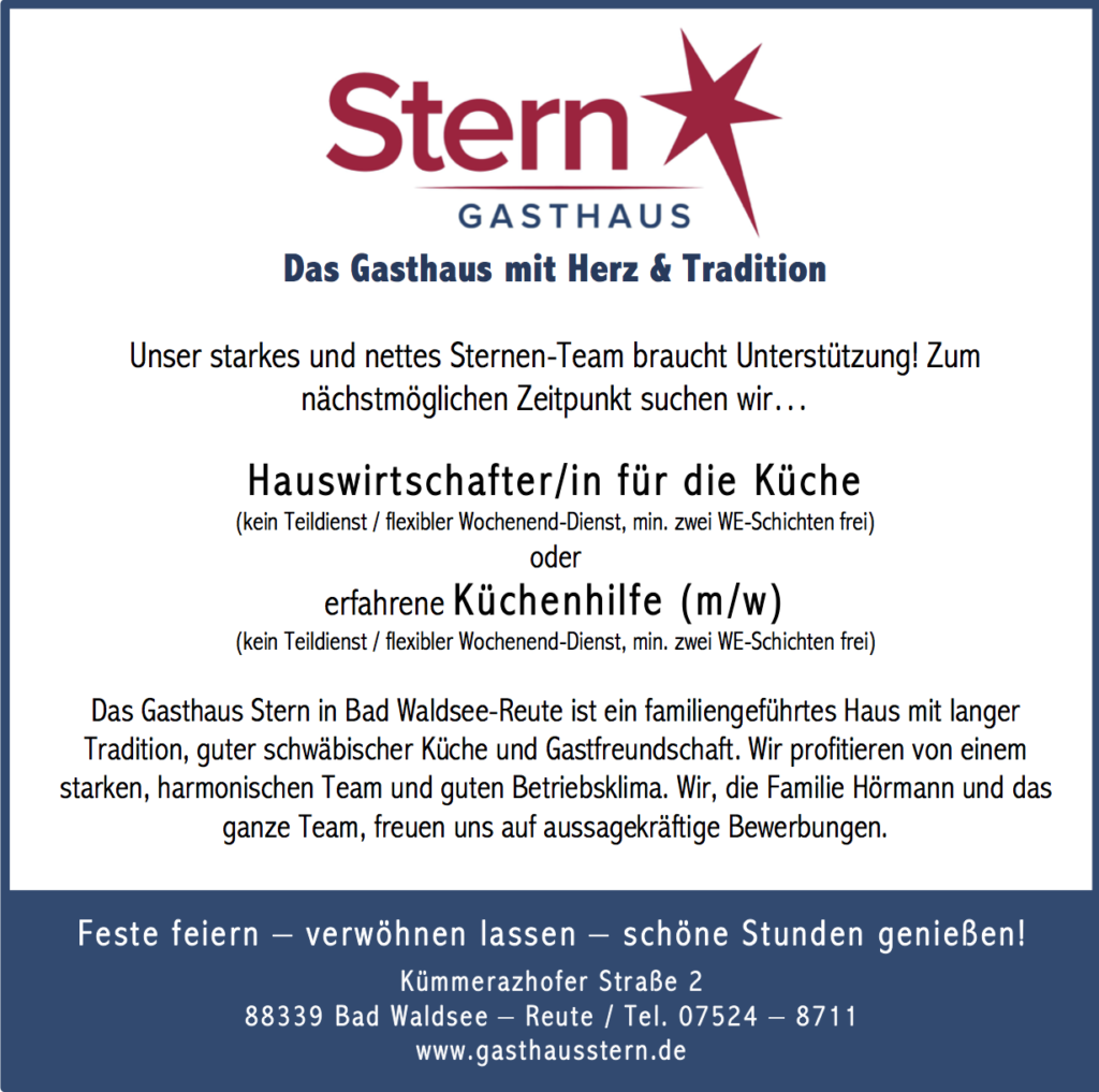 201803_Gasthaus-Stern_Stellenauschreibung